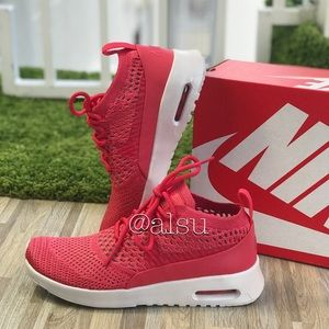 NWT Nike Air Max Thea Ultra FK Geranium W AUTHENTI